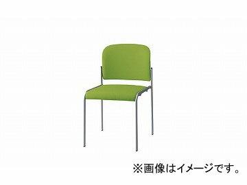ナイキ/NAIKI会議用チェアー4本脚タイプグリーンE253F-GR458×546×760mm