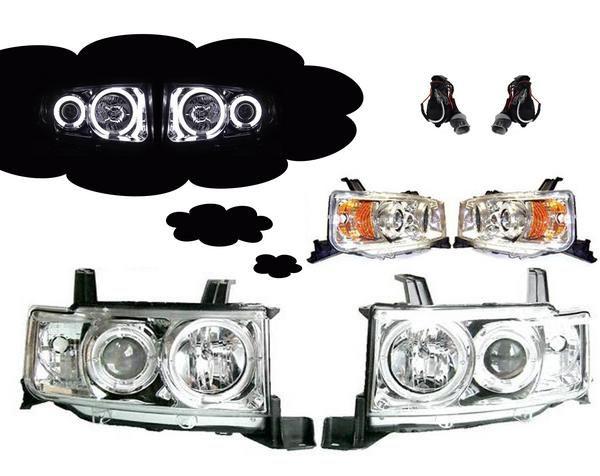 ライト・ランプ, ヘッドライト  bB 30 CCFL NCP30 NCP31 NCP35