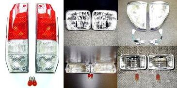 送料無料 トヨタ ランクル プラド 78 ヘッドライト & コーナー & ウィンカー & テールランプ & マーカー セット KZJ78G KZJ78W ランドクルーザー