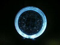ホワイトイカリング付きブルーLEDフォグランプスイッチ配線付き