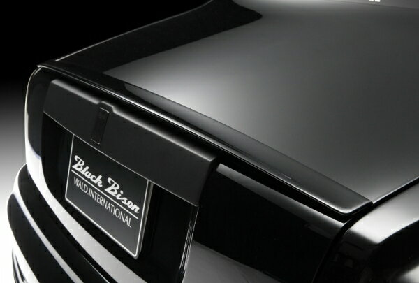 SPORTS LINE BLACK BISON EDITION ROLLS-ROYCE PHANTOM series II2012y〜 トランクスポイラー