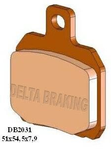ブレーキ, ブレーキパッド DELTA 750756899900 Tornado 12