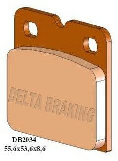 ブレーキ, ブレーキパッド DELTA Pantahpaso 12