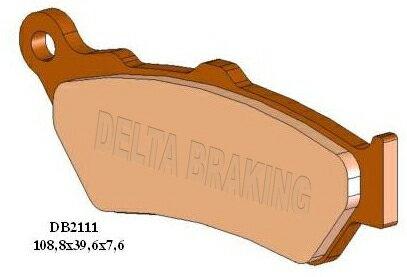 ブレーキ, ブレーキパッド DELTA Pegaso6501000ETV 12