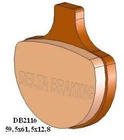 ブレーキ, ブレーキパッド DELTA FLSTS Heritage SpringerFXFXEFXEFFXWGFXS 12