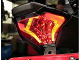 スモーク LED テールランプ ウィンカー内臓 MT-25 MT-03 MT-07 R25 R3 高輝度LED カプラオン ボルトオン
