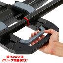 [YAKIMA 正規品] ドクタートレー 2台積載 50.8mm/2インチヒッチ角用 ※トランクヒッチ用バイクラック