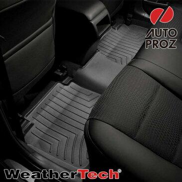 [Weathertech 正規品] トヨタ タコマ アクセスキャブ 2005-2013年式 フロアマット/フロアライナー2列目 ブラック