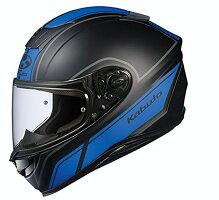 オージーケーカブト(OGKKABUTO)バイクヘルメットフルフェイスAEROBLADE5SMART(スマート)フラットブラックブルーXL