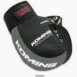 KOMINE(コミネ) AK-021 ネオプレーンハンドルウォーマー ブラック/グレー 09-021