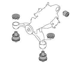 モンスタースポーツカプチーノ用リアデフマウント648500-2800M JAN4936080648008