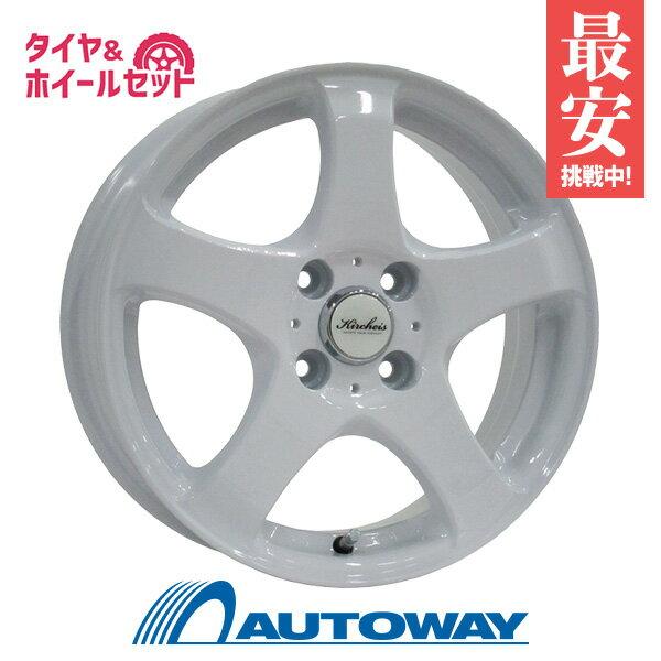 165/55R15サマータイヤタイヤホイールセット  KIRCHEISS515x5.5+43100x4WHITE+AS-1(16