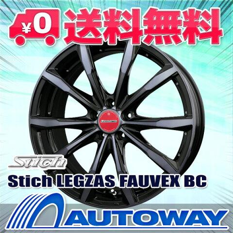 215/40R18 サマータイヤ タイヤホイールセット 【送料無料】Stich LEGZAS FAUVEX 18x7.0 +48 114.3x5 BC + PS-91 (215-40-18 215/40/18 215 40 18)夏タイヤ 18インチ 4本セット 新品