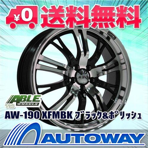 ■AW-190 18X7.5 +45 PCD100 5穴 XFMBK(18インチホイール)...