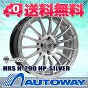 【4枚セット】 HRS H-290 15x6.5 +45 100x4 ...