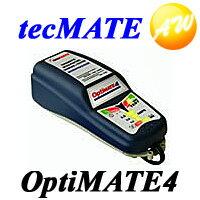 OPTIMATE4 オプティメイト4 送料無料 バッテリ- 充電器 バッテリーチャージャー テックメイト ...