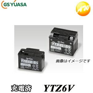 バイク用品, バッテリー YTZ6V-GY-C GS YUASA 12V