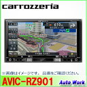 カロッツェリア 楽NAVI AVIC-RZ9017V型 VGAモニター 180mmモデルAV一体型メモリーナビ