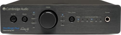アンプ, ヘッドホンアンプ DacMagic Plus BLK: Cambridge Audio USB DAC