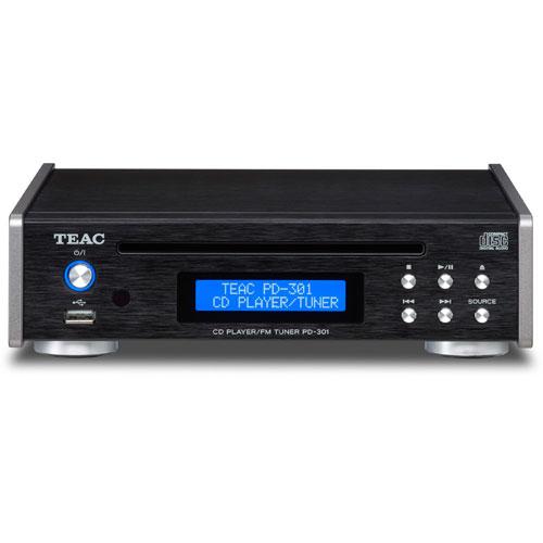 PD-301 B:ブラック TEAC ティアック CDプレーヤー