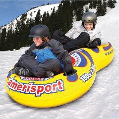 【送料無料】180cm×109cm そり 雪ゾリ スキー スノースレッド スノーボード 雪遊びスノ...