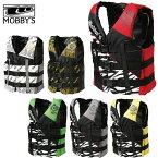 ライフジャケット 救命胴衣 ベスト マリンスポーツ ジェットスキー MOBBY'S モビーズ コンバット 3バックルベスト メンズ