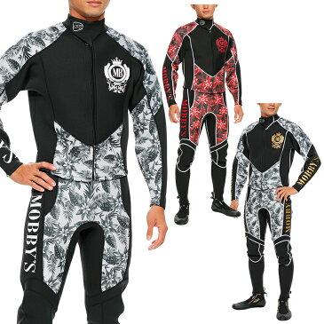 ウエットスーツ メンズ 2ピース ジャケット ロングジョンMOBBY'S モビーズ コンバット 2ピース ウエットスーツ メンズ