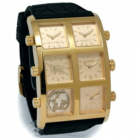 ICE LINK 【アイスリンク】4 TIME ZONEGENERATION BIG CASE【ジェネレーション】GZB-YYY KinDIAMOND WATCH 【ダイヤモンドウォッチ】:AVALANCHE GOLD&JEWELRY