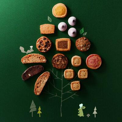 お取り寄せ(楽天) 動物たちの手作りクッキーギフト★ Forecipe フォレシピ 小さな森のクッキー クッキー 価格3,904円 (税込)