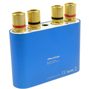 Bluetoothスピーカーアンプ2チャンネル50W×2パワーアンプステレオスピーカーF900