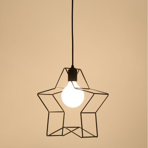 星型 ペンダントライト LED電球付き アメリカン ヴィンテージ照明 バー レストラン カフェ 喫茶
