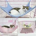 キャットハンモック チェア ニャンモック ねこ用ハンモック ペット用品 猫 取り付け簡単 さらさら メッシュ素材 その1