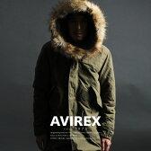 AVIREX 公式通販 | フード&ライナー(裏地)の取外しが可能 秋冬モッズコート ミリタリーコートM-65 PARKA【送料無料】