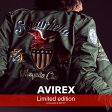 AVIREX 公式通販 オンライン/DEPOT限定|アメリカ空軍の主要部隊太平洋空軍の傘下にあり、主に部隊管理を行う第5空軍(Fifth Air Force)をグラフィックモチーフにした限定L-2ジャケットがリリースL-2 5th AIR FORCE【送料無料】