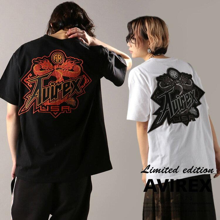 トップス, Tシャツ・カットソー AVIREX TTWIN DRAGON T-SHIRT( )