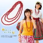 【アクセサリー】ストーンネックレス GD268-3040 ▼フォークダンス 衣装 小物