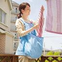 【在庫限り】【便利グッズ】カンガルーランドリーエプロン Z1257▼洗濯用品 アイデアグッズ 便利グッズ