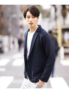 [Rakuten Fashion]【SALE/60%OFF】ハニカムジャーディガン a.v.v アー・ヴェ・ヴェ コート/ジャケット コート/ジャケットその他 ネイビー グレー【RBA_E】