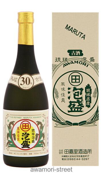 泡盛古酒やんばる酒造(田嘉里)/まるた古酒30度,720ml/お中元ギフト敬老の日家飲み宅飲み