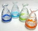 ティーダとっくり1合(各色) 「酒器・琉球ガラス」【10P01Mar15】