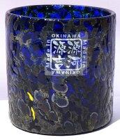 琉球ガラス:コーラルシーロックグラス(全2色):源河源吉 お中元