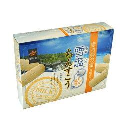 雪塩ちんすこうミルク風味小 24個入り(1袋2個入り×12袋入り)(南風堂) ちんすこう 沖縄菓子 (沖縄土産