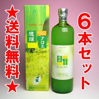 點 10 倍國家生產 (沖繩) 蘆薈汁 (蘆薈汁) 直件 900 毫升 × 6 有限公司琉球蘆薈飲料是股價的 FLP 蘆薈美容,(通過),葡萄糖、 腸道、 皮膚 (皮膚),懷孕的婦女,在飲食便秘