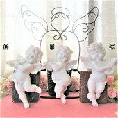 楽器を持った天使【花冠のウォールエンジェル三種】