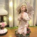 【優しい天使 祈りを捧げる天使像】 インテリア 置物 母の日...