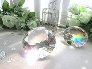 クリスタル ダイヤモンド プレミアム サンキャッチャー オブジェ インテリア