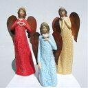 ≪雑貨*エンジェル雑貨≫ 銅製の羽を持った癒しの天使♪【エンボスカラー...