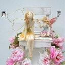 ≪待望の再入荷!!≫春を告げる可憐な妖精【春色フェアリー E・F】インテリア置物 プレゼント 贈り物 ギフト雑貨