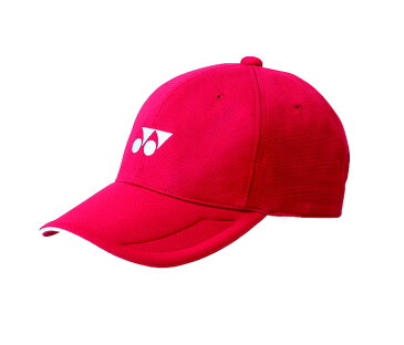 【YONEX ヨネックス】 40061 テニス・バドミントン 帽子・サンバイザー ユニキャップ レッド 001[190920]