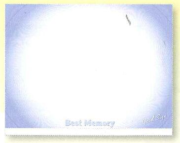 ★卒団・引退・優勝 心に残る贈り物を★【卒業記念品】【ユニックス UNIX】野球 寄せ書き・サイン用色紙 Best-Memory スポーツシリーズ(フリースタイル) 大判サイズ FD13-34 ブルー 卒団記念品 FD1334